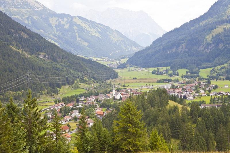 Bichlbach dorp